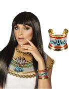 Ägyptische Königin Armreif Kostümaccessoire bunt