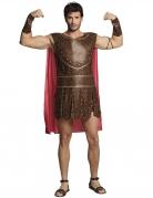 Römischer-Krieger-Kostüm für Herren braun-rot