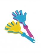Klatschhände Piñata-Accessoire Deko 2 Stück bunt 6x13cm