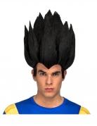 Dragon Ball Z™-Perücke Vegeta Kostümzubehör schwarz