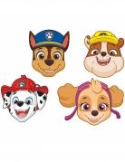 Paw Patrol™-Pappmasken 8 Stück bunt