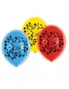 Mickey Maus™-Luftballons LED Partydeko 5 Stück bunt 28cm