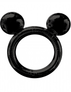 Mickey Maus™-Luftballon Bilderrahmen-Ballon Partydeko schwarz 68x63cm