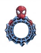 Spiderman™-Ballon Luftballon-Bilderrahmen Deko blau-rot-schwarz 68x81cm