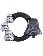 Star Wars™-Aluminiumballon schwarz-grau 53x73cm