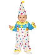 Babykostüm Clown bunt