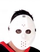 Hockey-Maske für Erwachsene weiss