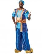 Dschinni-Herrenkostüm Disney™ blau-goldfarben