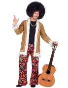 Woodstock Hippie-Kostüm für Herren Faschingskostüm bunt