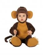 Schimpansen-Kostüm für Babys Tierkostüm braun
