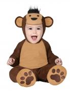 Affen-Babykostüm Tierkostüm braun