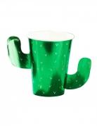 Kaktus-Becher Originelle Pappbecher 8 Stück grün 266ml