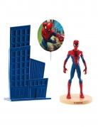 Spider Man™-Tortendeko-Set 3-teilig bunt 8,5cm