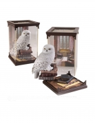 Hedwig™-Figur Harry Potter™-Deko weiss-braun 18cm