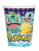 Pokémon™-Trinkbecher Tisch-Deko 8 Stück bunt 250 ml