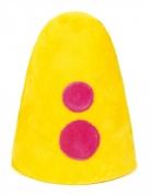 Bumba™ Clownmütze für Kinder gelb-pink