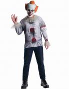 Es™ Kostüm für Herren weiss-rot-grau