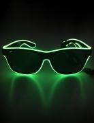 Neon-Brille leuchtend Accessoire bunt