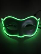 Leuchtende LED-Augenmaske für Erwachsene grün