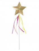 Feen-Zauberstab mit Stern gold-bunt