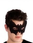 Fledermaus-Augenmaske mit Gummiband schwarz