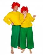 Offizielles Pumuckl™-Kostüm für Männer und Frauen Lizenzkostüm gelb-grün