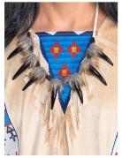 Winnetou™-Halsschmuck Indianer-Accessoire zum Fasching braun-schwarz
