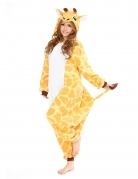 Giraffen-Kostüm Kigurumi™ Faschingskostüm gelb-weiss