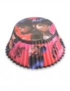 Ladybug™ Cupcake-Förmchen 50 Stück schwarz-rot 7 cm