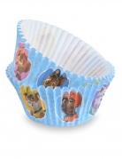 Paw Patrol™-Cupcake-Formen Partydeko 50 Stück blau 7 cm