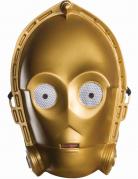 C3PO™-Maske Vintag-Maske Star Wars™ gold