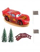 Cars™-Kuchendeko-Set Deko 6-teilig rot-grün
