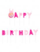 Disney Prinzessinnen™ Geburtstagskerzen rosa