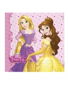Disney™-Servietten Märchenprinzessinnen 20 Stück bunt 33 x 33 cm
