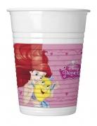 Disney™-Prinzessinnen Kunststoffbecher 8 Stück bunt 200 ml