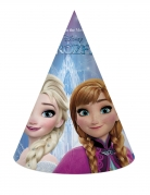 Frozen™ Partyhüte von Disney™ 6 Stück bunt