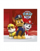 Paw Patrol™-Servietten Tischdeko Kindergeburtstag 20 Stück bunt 33x33cm