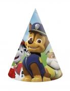 Paw Patrol™-Partyhüte für Kinder 6 Stück bunt