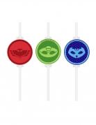 PJ Masks™ Strohhalme 4 Stück bunt