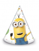 Minions™-Partyhüte für Kinder 6 Stück bunt