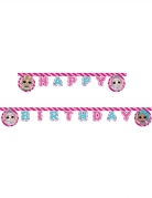 LOL Surprise™-Girlande Happy Birthday Dekoration bunt 2m