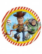 Toy Story™ Pappteller 8 Stück bunt 23 cm