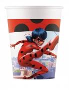 Miraculous™-Partybecher Ladybug™-Becher 8 Stück rot-weiss 200ml