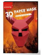 3D-Teufel-Maske Halloween-Maske rot