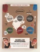 Professionelles Make-up Schminkpalette auf Wasserbasis für Jungen 7-teilig bunt 6 x 4 g