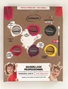 Professionelle Schmink-Palette auf Wasserbasis für Mädchen bunt 6 x 4 g