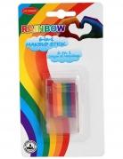 Regenbogen Make-up Stift 6 in 1 bunt 7,2 g