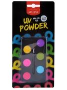 UV-Schmink-Palette Make-up bunt 6x1 g
