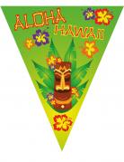 Hawaii-Girlande Aloha Sommer-Dekoration bunt 5 m