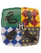 Hogwarts-Luftballon Harry Potter™ quadratisch Partydeko bunt 43x43 cm